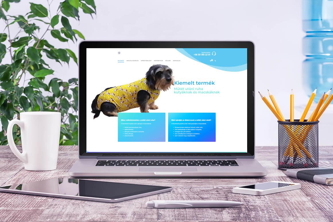 wordpress woocommerce webshop készítés